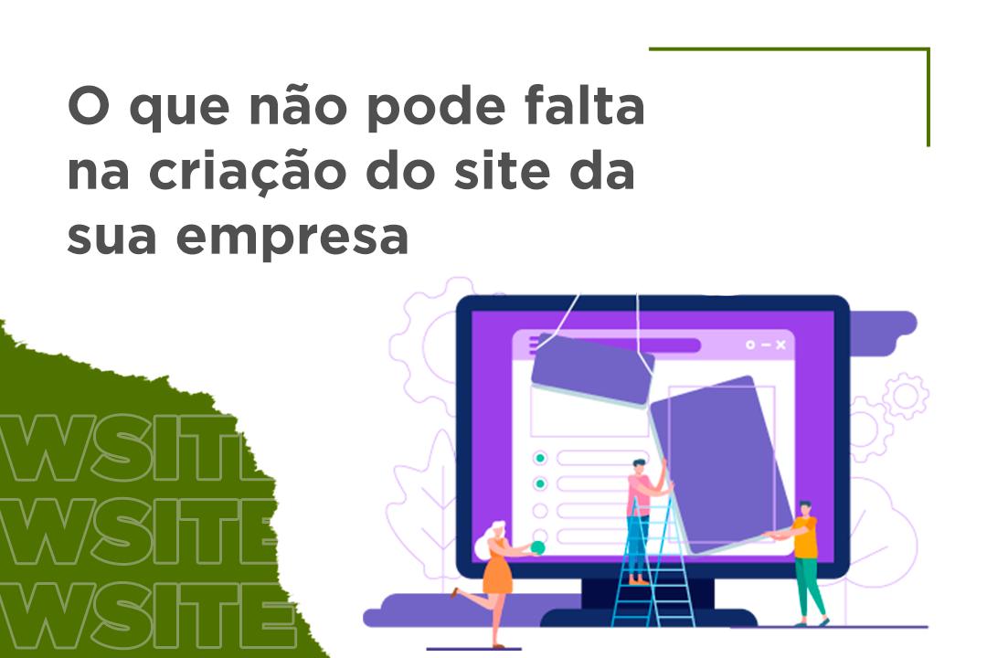 Criação do site da sua empresa